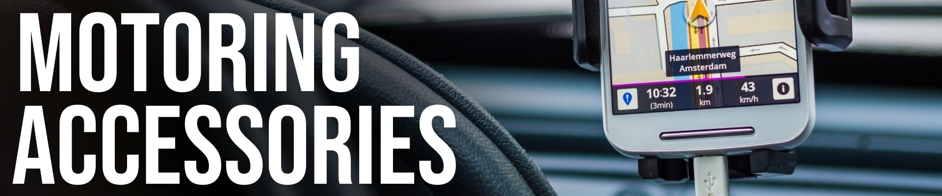 Motoring Accessories Banner