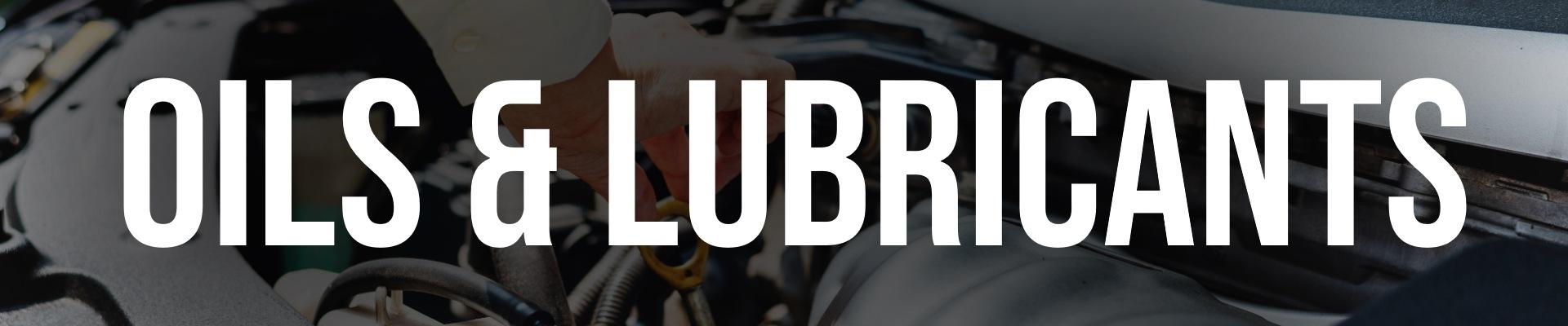 Oils & Lubricants Banner