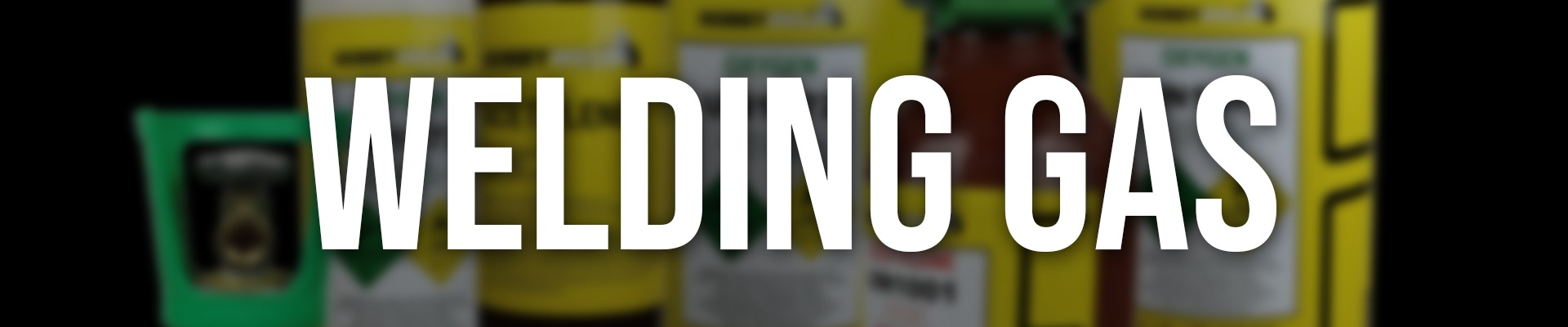 Welding Gas Banner