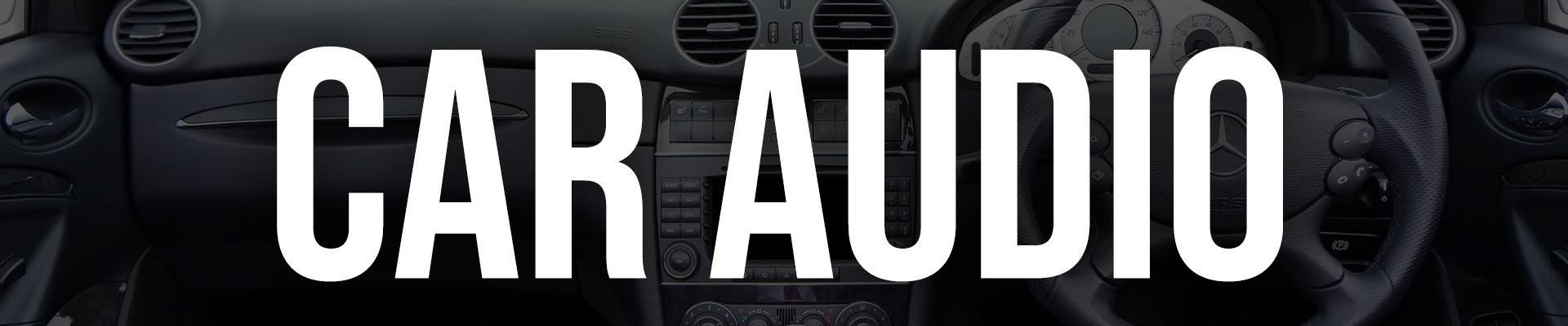 Car Audio Banner