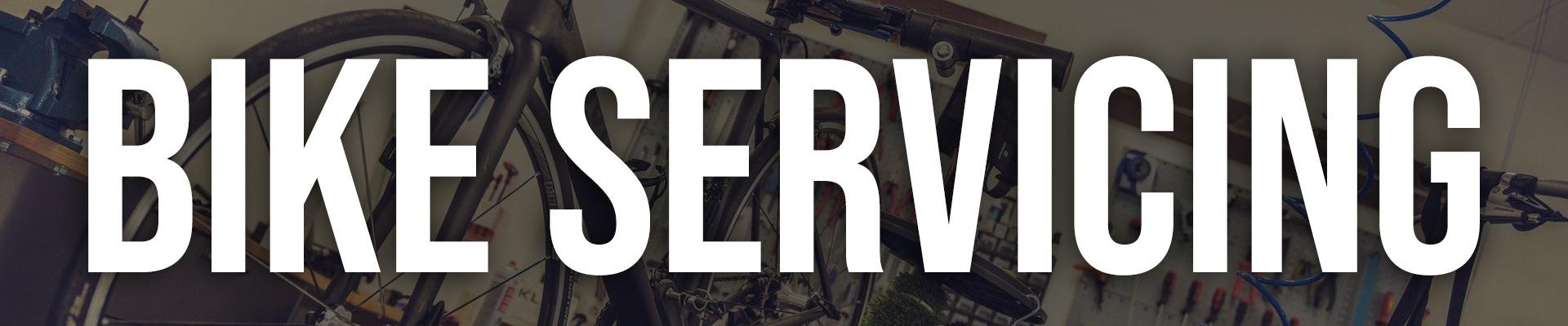 Bike Servicing Banner